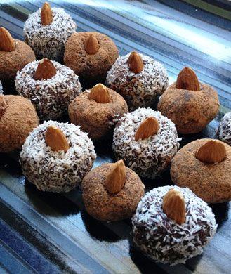 Vegan sugar-free truffles for 74 calories each!