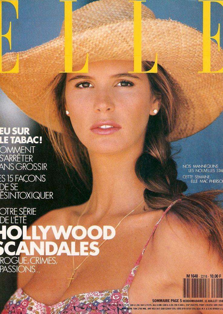 Elle Macpherson  -  Elle France  July 1988