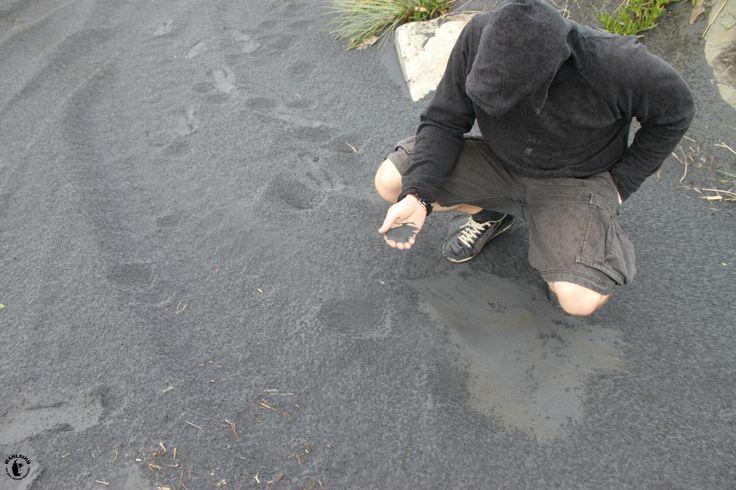 Neuseeland - Schwarzer magnetischer Sand