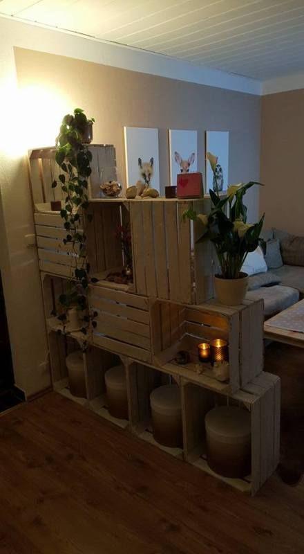 10 X Weiße Stabile Apfelkisten+Weinkisten+Holzkisten+Obstkisten In Möbel U0026  Wohnen, Dekoration, Sonstige
