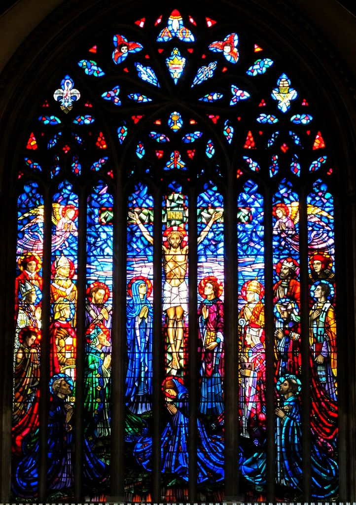 Great East Window, St George's Cathedral, Southwark | Flickr - Photo Sharing!