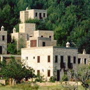 1992 Cycle Awards Recipient    Demir Holiday Village  Location: Bodrum, Turkey (Asia)  Architect: Turgut Cansever, Emine Ögün, Mehmet Ögün, and Feyza Cansever  Completed: 1987