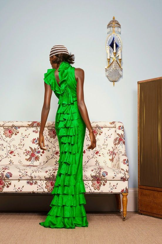 Playing Dress-up: Duro Olowu SS 2015 | African Prints in Fashion