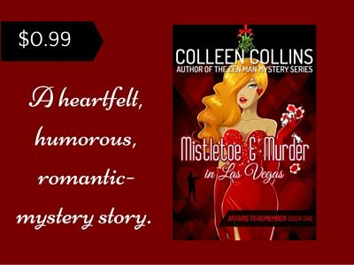 Book-o-Craze: Release Blast {Giveaway} -- Mistletoe and Murder in Las Vegas (Affairs to Remeber #1) by Colleen Collins