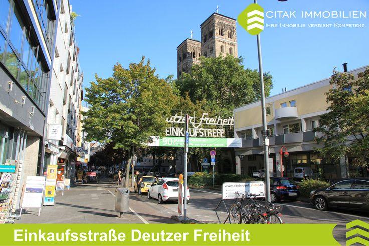 Deutz-Einkaufsstraße Deutzer Freiheit