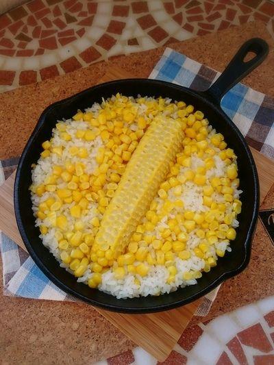 スキレットでとうもろこしご飯 by mamas_dishesさん   レシピ ...
