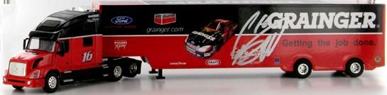 Greg Biffle.  #16 Grainger 2003 Transporter in 1/64 scale.