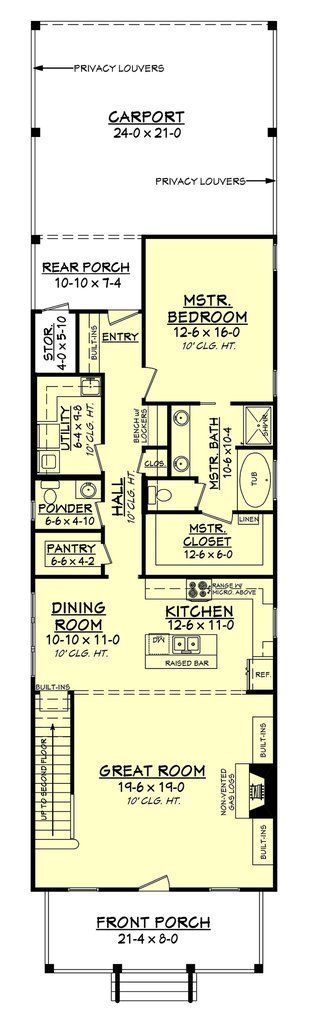 Bellegrass III Cottage House Plan  Bungalow Floor. Best 25  Bungalow floor plans ideas only on Pinterest   Bungalow