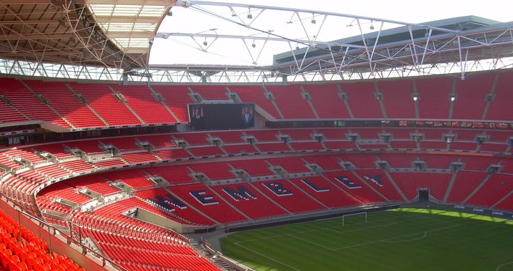 Wembley Stadium, The Headquarters of The English National Team