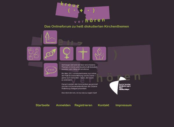 BDKJ-Bund der Deutschen Katholischen Jugend : Kreuzverhören