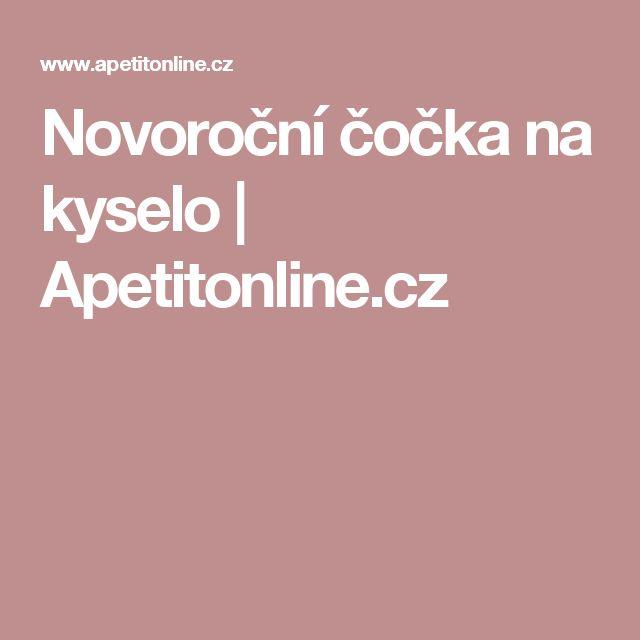 Novoroční čočka na kyselo | Apetitonline.cz