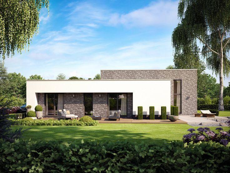 Musterhaus modern flachdach  Die besten 25+ Flachdach Ideen auf Pinterest ...