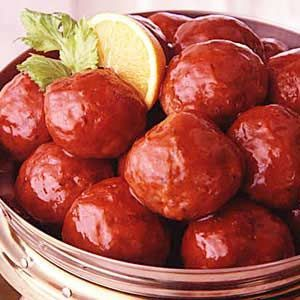 I would use 1/2 pound less of the ham and 1/2 pound less of the ground beef and use one pound of pork to give it more flavor. It makes enough for a good 25-30 ham balls, so be aware of that before you make it!