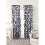 Buy Better Homes and Gardens Damask Curtain Panel at Walmart.com
