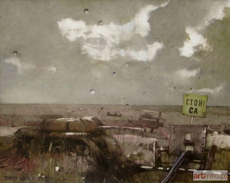 Jerzy DUDA-GRACZ ● Obraz 1747 (ANDENKEN VON LAGOV-VI), 1994