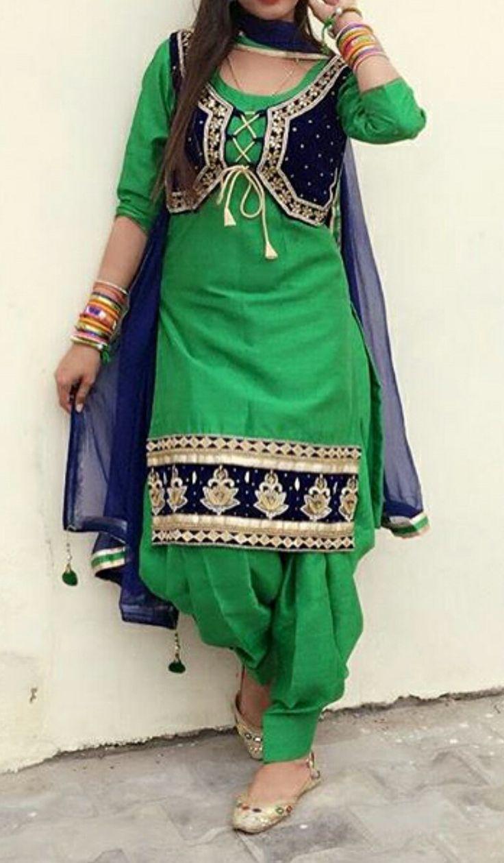 543 best Punjabi boutique suit images on Pinterest ...
