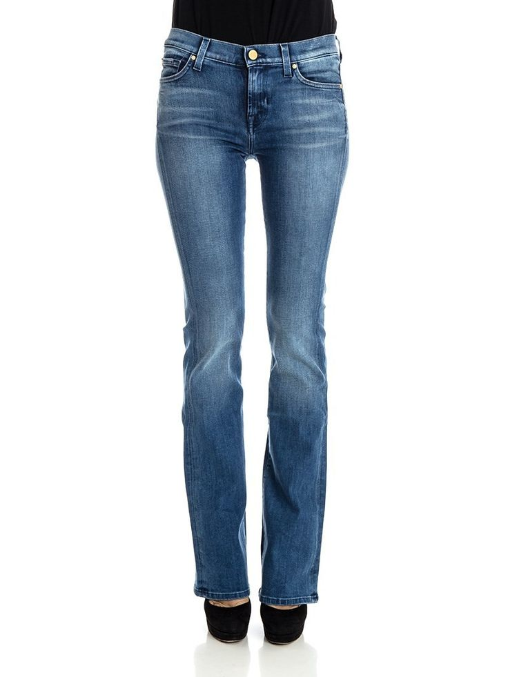7 For All Mankind - Slim Illusion jeans - skinny bootcut jeans - ZO ET LO