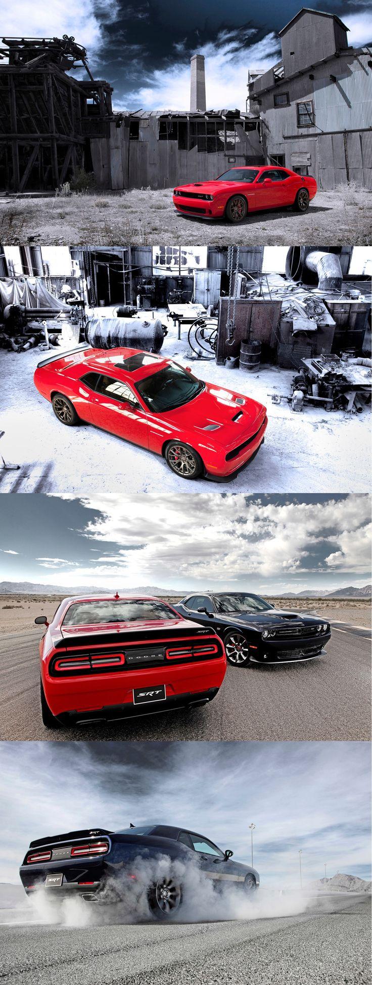 Dodge Challenger SRT Hellcat w/ Supercharged 6.2-liter Hemi V8 Making 600+ Horsepower