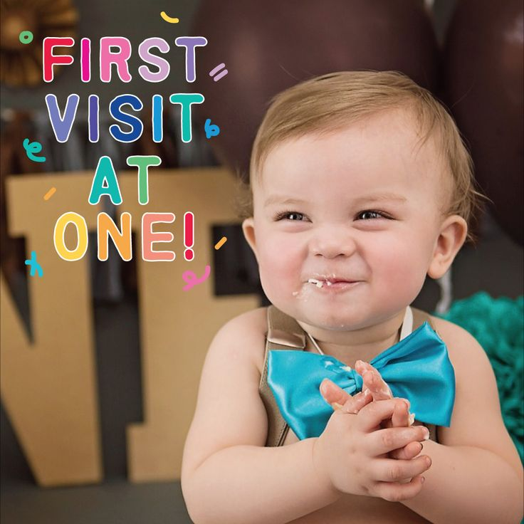 WHEN SHOULD YOU bring in your child for their first appointment? At one or after their first tooth comes in! #dentist #londonSmileCare