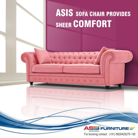 In Medieval times, cushions were used to ease the hardness of the wooden chair. In today's time we've got ASIS sofa-chair, to ease your life. ‪#‎FurnitureFacts‬ Shop at http://www.asisfurniture.in/