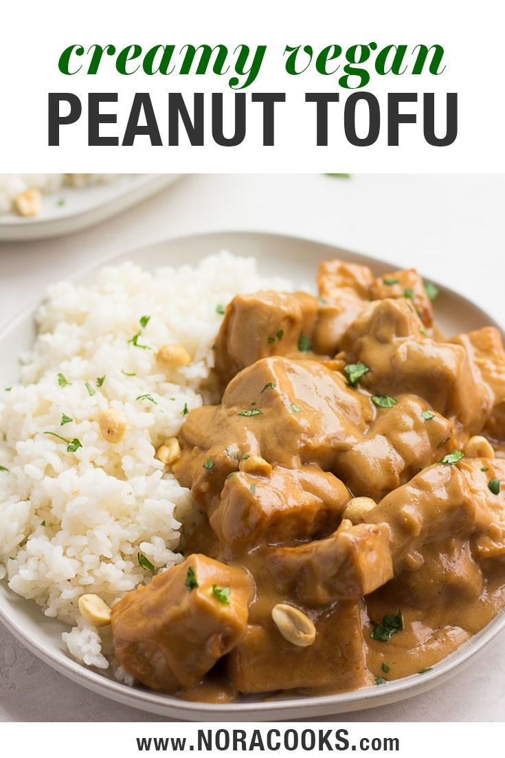 You'll love this quick and easy vegan Peanut Tofu with Coconut Rice. Crispy bake…