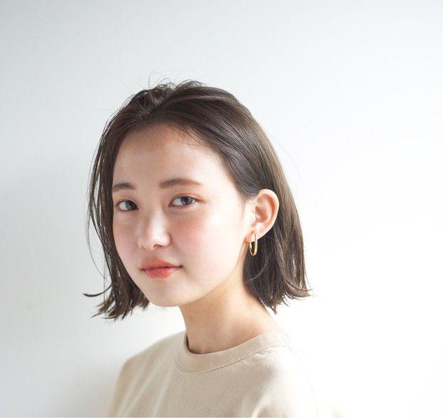 韓国発のおしゃれヘア 美人に見える タンバルモリ 20選 髪型 ボブ