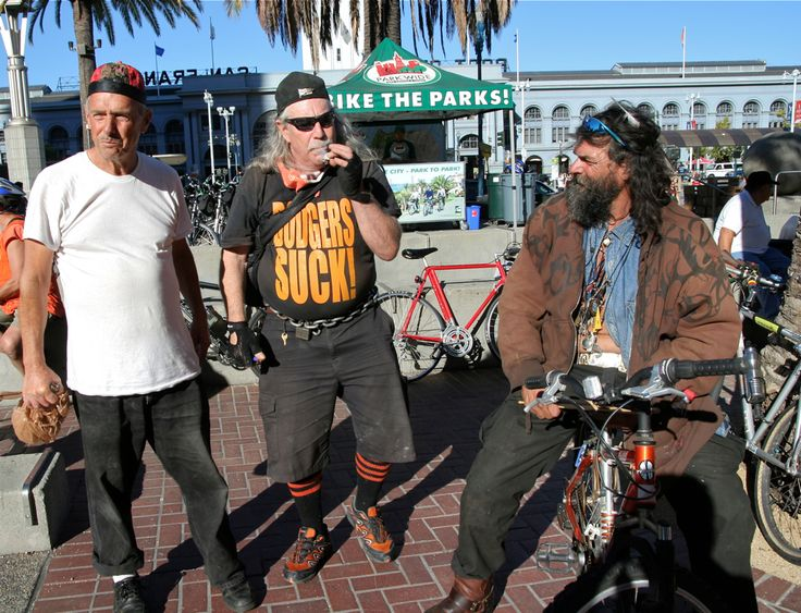 Getting ready for the ride. San Francisco Critical Mass Aug 30 2013. © Miikka Järvinen