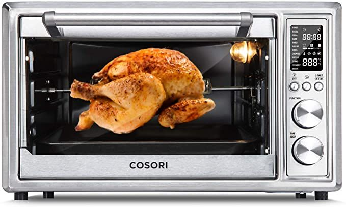 Best Toaster Ovens 2021 AmazonSmile: COSORI 12 in 1 Air Fryer Toaster Oven Convection