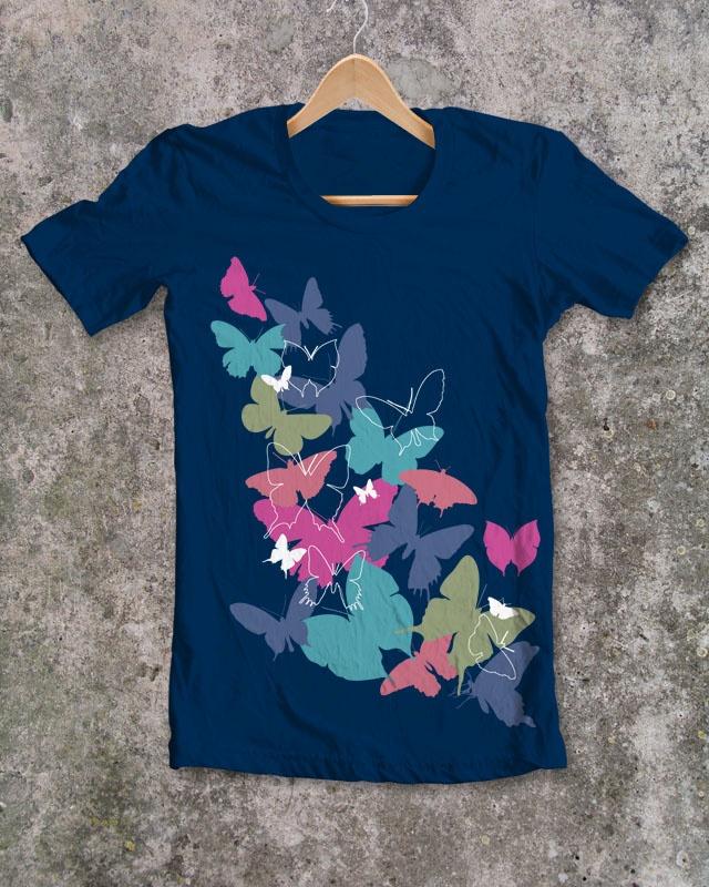 BUTTERFLIES   tshirts... & more (http://727073.spreadshirt.net/)