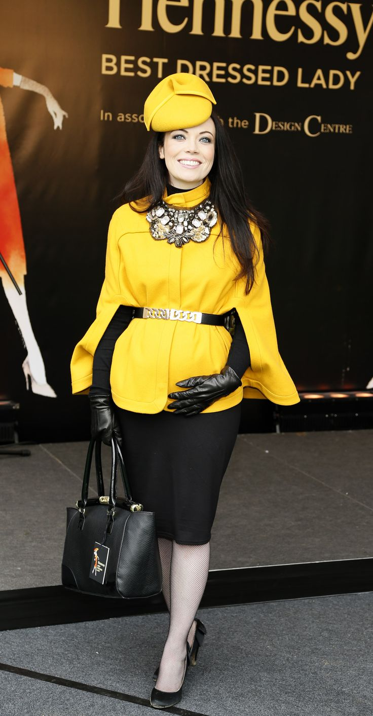 Jean Sorohan at the Leopardstown Hennessy Gold Cup 2013