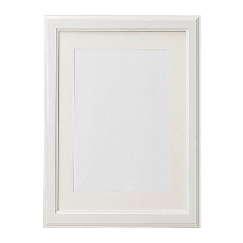 IKEA - VIRSERUM, Frame, 30x40 cm, , Fits A4 size pictures if used with the mount.The mount enhances the picture and makes framing easy.PH-neutral mount; will not discolour the picture.Can be hung horizontally or vertically to fit in the space available.