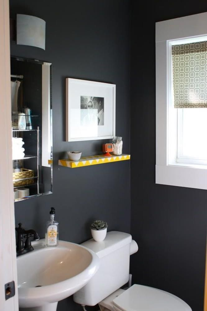 40 Perfect Gray Half Bathroom Decorating Ideas On A Budget Small