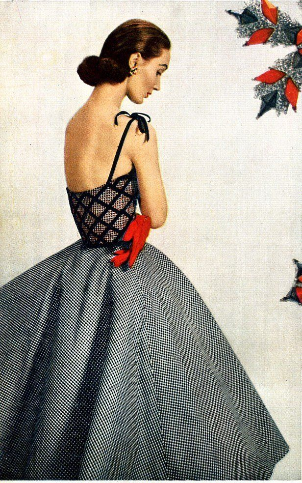 Evelyn Tripp - May 1952 - Harper's Bazaar