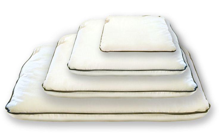 organic Pillows : Buckwheat Hull Pillow