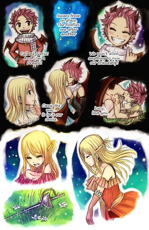 Princesse Lucy et Prince dragon Natsu (fin)
