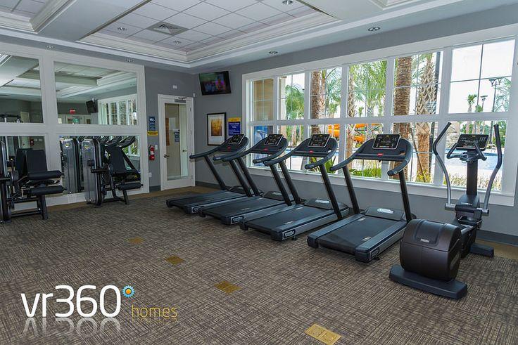 Solterra Resort, Davenport, Florida - Clubhouse Gym. http://www.vr360homes.com/north-america/florida/disney-orlando-villas/solterra-resort/