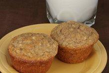 This recipe makes muffin making easy by using our 10 Grain Pancake Mix. High Fiber. Make vegan!