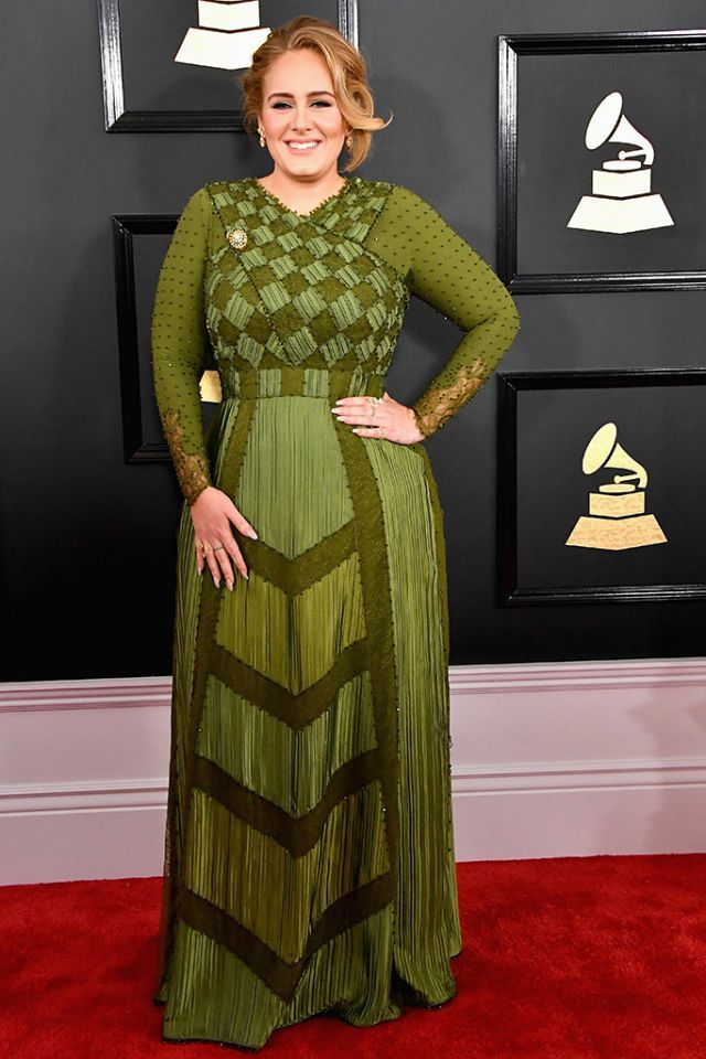 <p>Singer Adele attends the 59th Grammy Awards. (Photo: Steve Granitz/WireImage) </p>