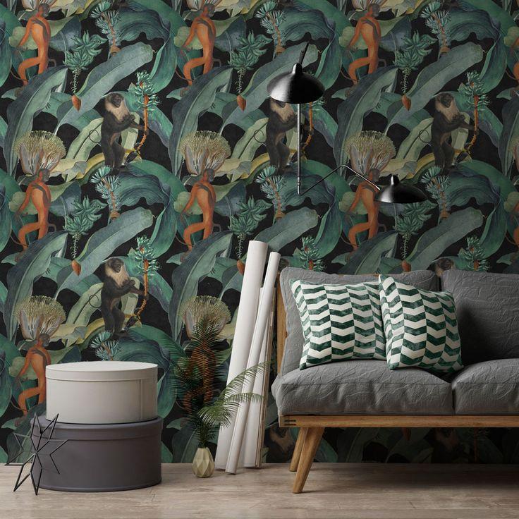 Die besten 25+ Feature tapete Ideen auf Pinterest Schlafzimmer - moderne tapeten fr schlafzimmer