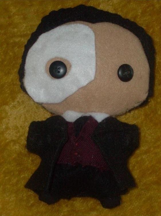 Phantom Of The Opera Plushie - Im sooooo making one!!! :DDDDDD