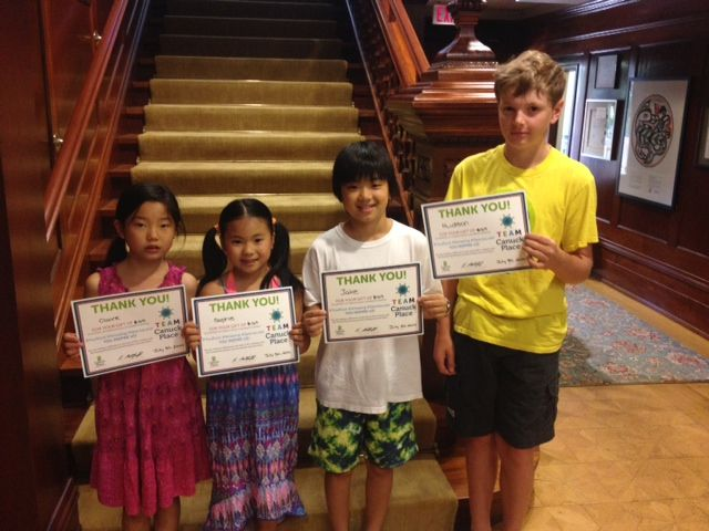 These students hosted a carnival at their school to raise funds in honour of their friend Hiroki.