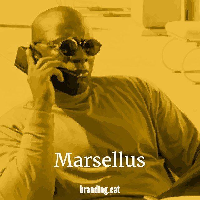 """A Marcellus Wallace no le gusta que le folle nadie excepto la Señora Wallace.""  #marselluswallace #elcineescultura #love #cinema #cultura #film #cine #quote #yellow #groc #illustrator #work #branding #cat #sabadell #barcelona"