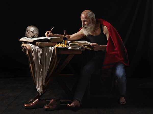 "'CHIAROSCURO"" CARAVAGGIO on Behance"