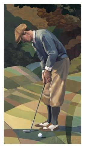Golf Reproduction d'art