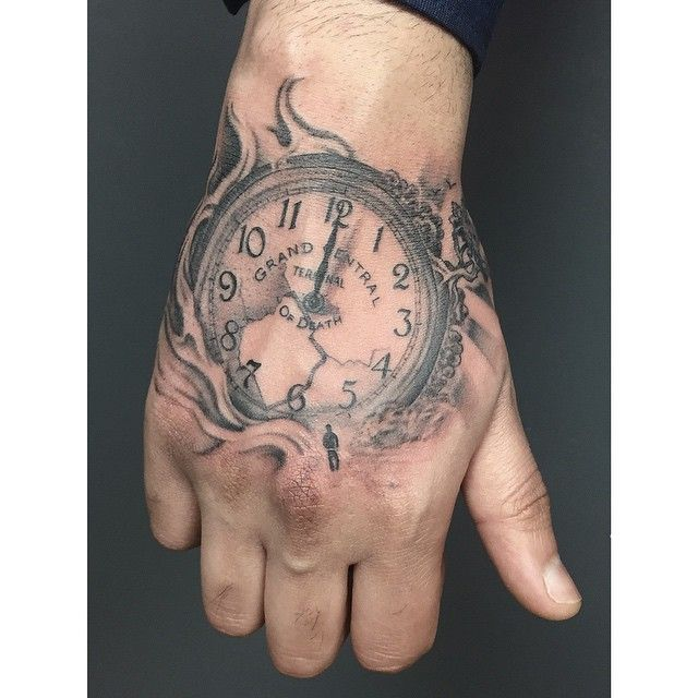 Hands Ambigram Tatoos 3: 17 Best Images About Tatoo Relógio On Pinterest