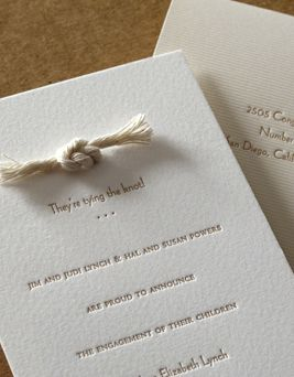 """The phrase """"tying the knot"""" initially came from an ancient Babylonian custom in which threads from the clothes of both the bride and groom were tied in a knot to symbolise the couple's union."""