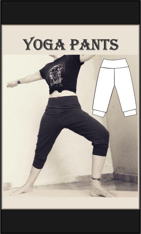 Yoga pants Sewing Pattern