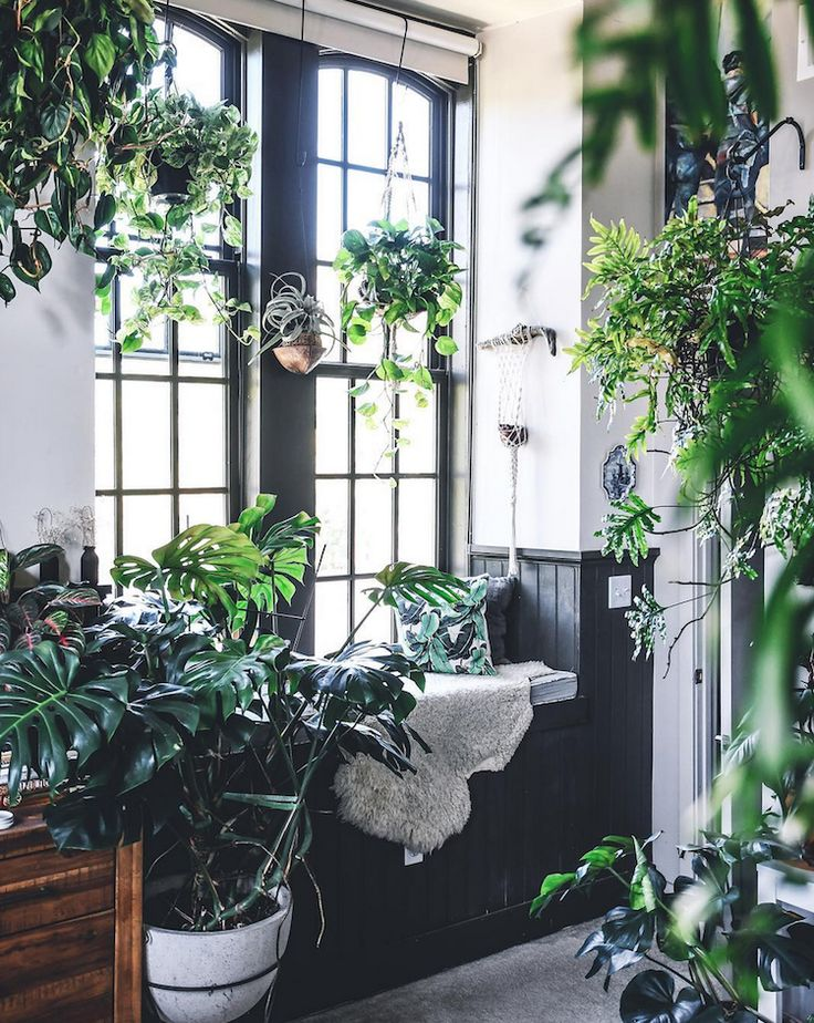 my scandinavian home: An incredible loft, filled with plants!