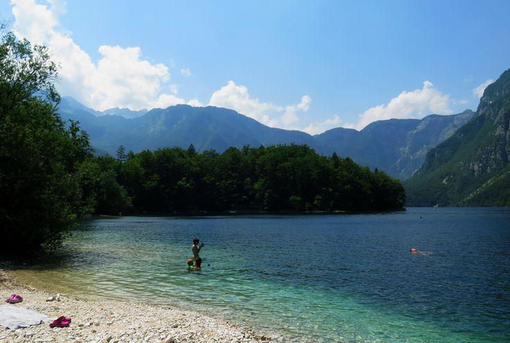 Top meren van Slovenie, Bohinj meer, Julische alpen, bron MijnSlovenie