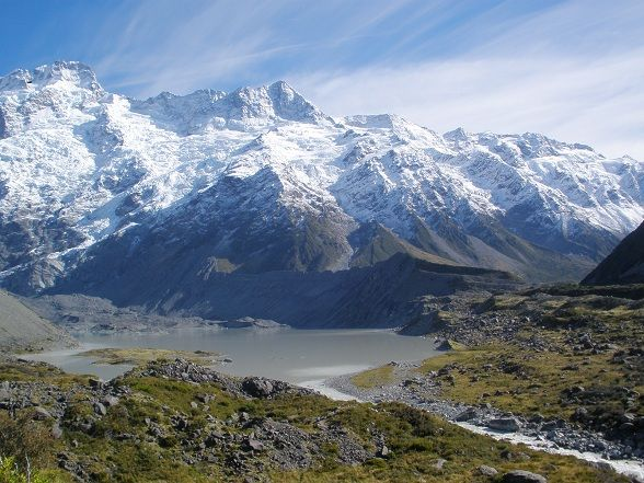 Mount Cook, New Zealand.